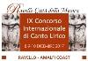 Ravello, CONCORSO INTERNAZIONALE DI CANTO LIRICO