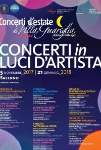 Salerno, 'Concerti in Luci d'Artista'