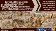 Le Giornate Europee del Patrimonio - 22 e 23 settembre 2018