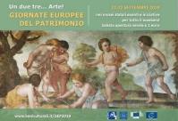 Le Giornate Europee del Patrimonio - 21 e 22 settembre 2019