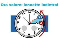 Torna l'ora solare tra il 27 e il 28 ottobre 2018