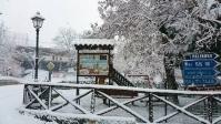 Le foto della neve in Campania del 26 e 27 febbraio 2018