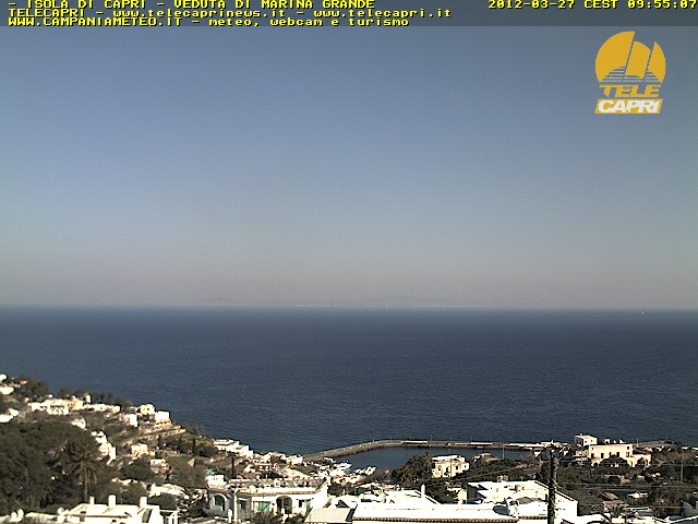 Capri webcam - Marina Grande Port, Capri webcam, Campania, Naples