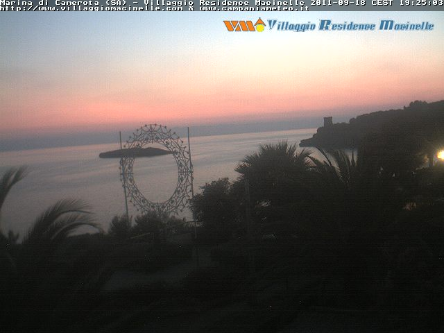 Webcam  Marina di Camarota
