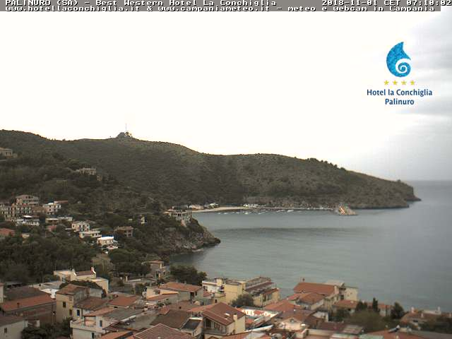 Webcam Capo Palinuro