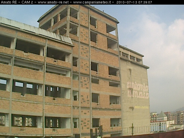Salerno webcam - Amato Yard webcam, Campania, Salerno