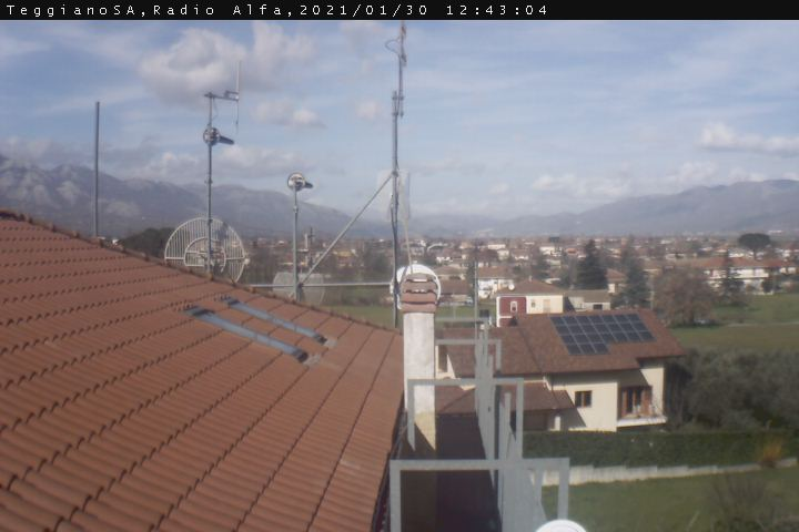 Webcam nei dintorni di campagna in Campania