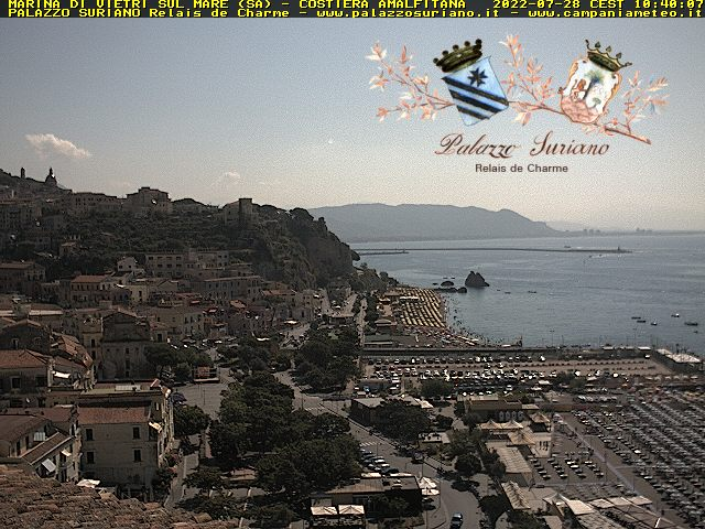 Webcam Vietri sul Mare, Salerno