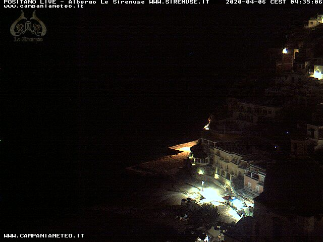 Webcam Positano Seaview