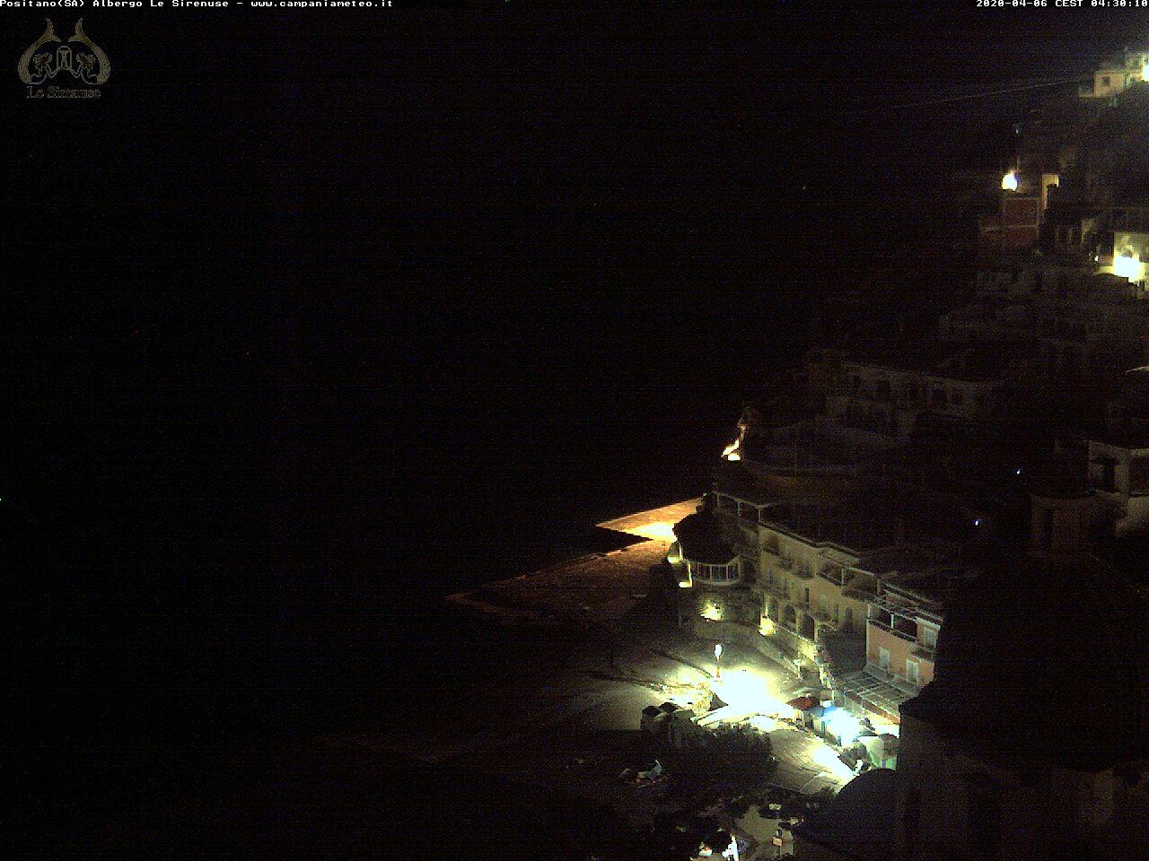 Webcam Positano, di Hotel Sirenuse
